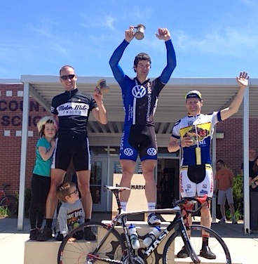 Aaron Shafer Memorial Road Race - Dirk Pohlmann 3rd