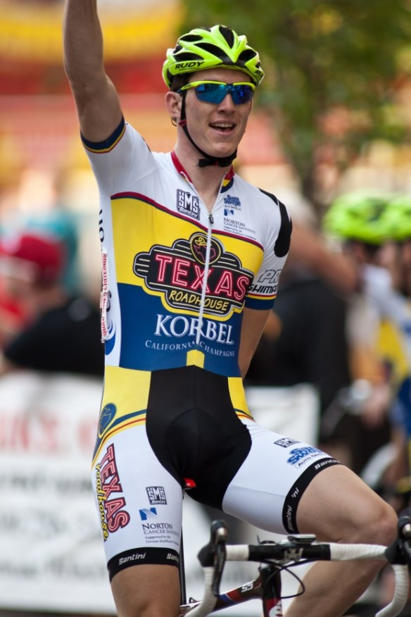 Adam Leibovitz claims Qaud Cities Title 2013.  Photo:  Louis Brems, Quad-City Times
